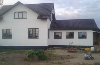 Продаётся участок с жилым домом для круглогодичного проживания
