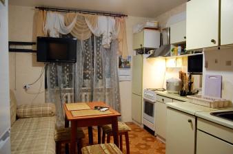1-комнатная квартира с большой кухней и евроремонтом для молодой начинающей семьи!
