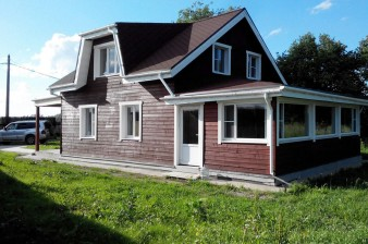 Продается полностью готовый дом для семьи 165 кв.м 2010 года постройки, 20 мин. до метро Московская