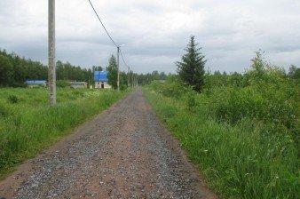 Продаётся раскорчеванный участок 10 соток СНТ в Тосненском р-не